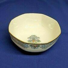 "Lenox China AUTUMN Pattern 8"" OCTAGONAL VEGETABLE Serving Bowl Gold Backstamp"
