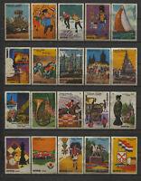 Complete Set of 20 Eurotrip Dutch Events Serie Dutch Vintage Matchbox Labels