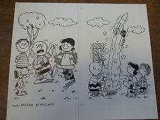 Originalzeichnung Parodie Charlie Brown Peanuts deutsche MAD von Astalos Ivica