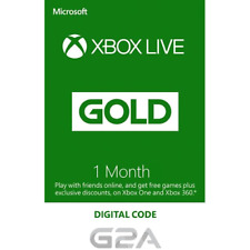 Xbox Live 1 Month Gold Membership Code - Microsoft Xbox One/ 360 Digital Key UK