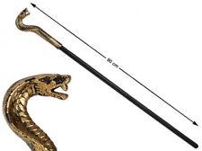 Sceptre de PHARAON tête Serpent Cobra Accessoire Déguisement Homme Femme NEUF