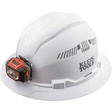 60407 Hard Hat Light Vented Full Brim Style Padded Self Wicking Sweatband