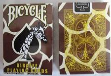 Giraffe Deck Bicycle Playing Cards Poker Size USPCC Custom Limited New Sealed