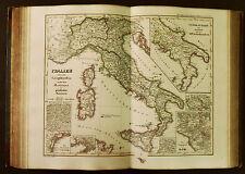 1854c,SPRUNER ATLAS:ITALIA.ITALY.SICILIA.SARDEGNA.CORSICA,ROMA DINTORNI.ETNA,