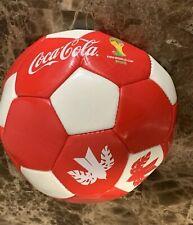 Vintage 2014 Brazil Fifa World Cup Coca Cola Soccer Ball