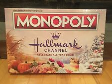 Hallmark Channel Monopoly Board Game Countdown to Christmas Winter Movies 2019