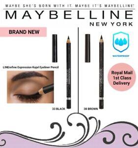 Maybelline New York LINErefine Expression Kajal Waterproof Pencil - Black/Brown