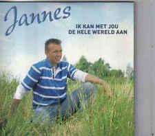 Jannes-Ik Kan Met jou De Hele Wereld Aan cd single