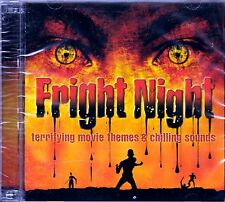 FRIGHT NIGHT HALLOWEEN: TERRIFYING MOVIE THEMES & CHILLING SOUNDS (2-CD Set) NEW