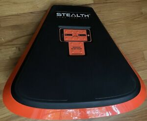 Stealth Personal Core Trainer Plank Workout Fitness Board Orange
