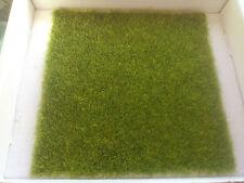 New Meadow Static Grass Mat for Model Railway/Diorama/Scenery