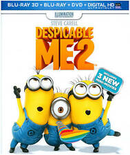 DESPICABLE ME 2 NEW REGION B BLU-RAY