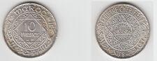 Gertbrolen Maroc 10 Francs  Argent  1352 Exemplaire N° 3    Silver Coin