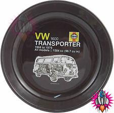 NEW OFFICIAL VOLKSWAGEN VW CAMPER VAN TRANSPORTER ENAMEL TIN PLATE BROWN
