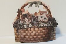 The Gifted Line Cats in a Basket Box John Grossman 1988 NEW
