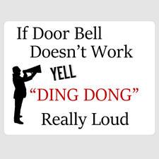 Door Signs/Plaques