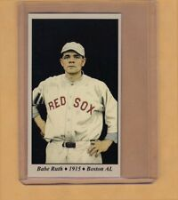 Babe Ruth '15 Boston Red Sox rookie season Tobacco Road series #10