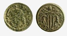 pcc2127_9) GUBBIO BENEDETTO XIV 1740-1758 Quattrino San Paolo - incrostazioni