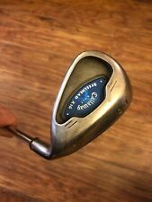 SUPERB CALLAWAY X-16 9 IRON, CONSTANT WEIGHT STEEL SHAFT, NEW LAMKIN GRIP