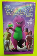 Barneys Great Adventure The First Movie VHS 1998 OOP Purple Clamshell Microsoft