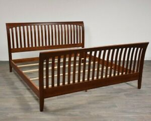 Ethan Allen American Impressions King Sleigh Bed Cherry #24-5640-6 #224 Finish