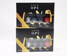 LOVE OPI HOLIDAY XOXO MINI Nail Polish Stocking Stuffers J02 J03 J04 J10 2 Sets