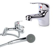 Stream Basin Mono Mixer & Bath Shower Mixer Tap Set