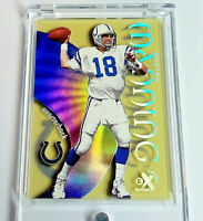 PEYTON MANNING 1999 SKYBOX E-X CENTURY #60 Holo Acetate Card COLTS 2nd Year!