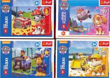 ♥ Paw Patrol Mini Puzzle Set 4-teilig Kinder ab 3 Jahre Spielset NEU ♥