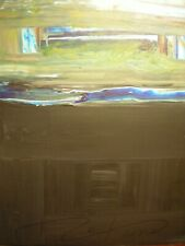 """Original Painting / by, M. Cotrone / """"The Waters above the Firmament"""" / Abstract"""