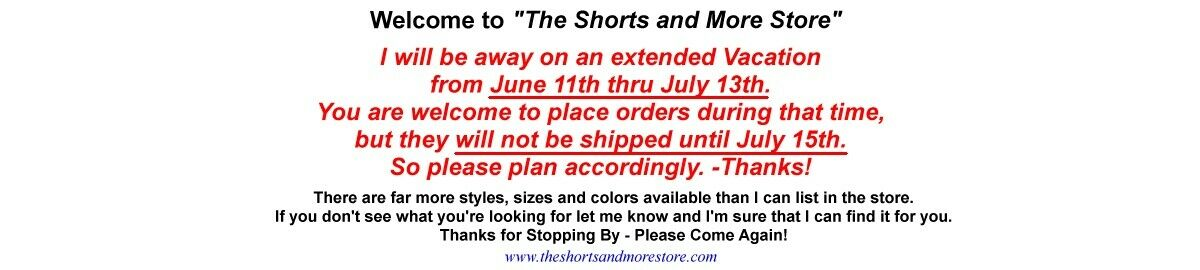The Shorts and More Store