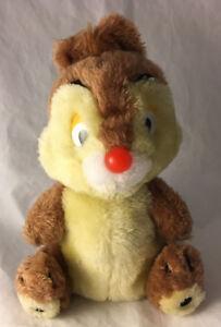 "Vintage Dale Walt Disney Productions Plush - Stuffed Animal 9"" Chip & Dale"