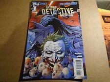 BATMAN : DETECTIVE COMICS #1 1st Print New 52 DC Comics 2011 NM-