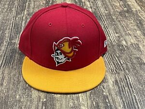 Albuquerque Dukes Red/Yellow MILB New Era Baseball Hat - Sz. 7 ¼