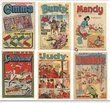Bunty, Mandy, Judy, Emma, Debbie, Spellbound 182 issues British Comics on DVD
