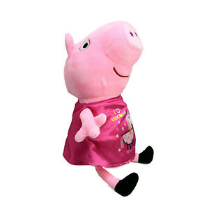 Bensons Trading Company Peppa Pig Plush Toy Showbag Washed & Clean 37cm 2003
