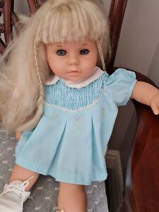 Vintage zapf creation doll