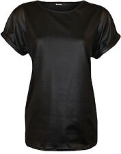 Hip Length Polyester Short Sleeve Women's Other Tops