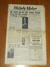 MELODY MAKER 1949 #833 JULY 23 JAZZ SWING DANNY POLO RALPH SHARON BUNK JOHNSON