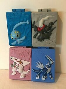 Pokemon Burger King Toys 2008 Deck Boxes Lot of 4 Cases Card Holders Palkia