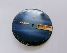 Made For Men'S Watch Parts 02 Genuine Vintage Enicar Blue Dial Swiss