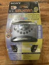 Sony Walkman WM-FX251 Digital Tuning Stereo Cassette Player NEW SEALED