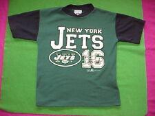 VTG 1999 NY New York Jets Logo T Shirt Jersey Testaverde # 16 Woman S/XS Youth L