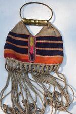 """$199 Mega-Ifugao Mens Bag, Brass 24"""" 1900S prov"""