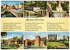 AK Husum / Hafen, Juhe, Schloss, Parkhotel Thordsen, Gedicht von Theodor Storm