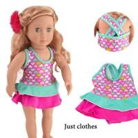 Clothes Swimwear Swimsuit for 18inch Girl Our Generation Dolls Summer New O2W1