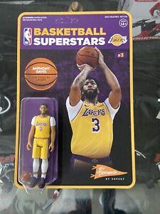 NBA Anthony Davis Los Angeles Lakers Super 7 ReAction Basketball Figure