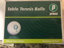 Prince 24 Table Tennis Balls - New