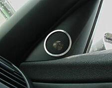 #4022 BMW Z4 e85 e86 2.5 3.0 3.2 - 2 Alu-Ringe für Hochtöner im Spiegeldreieck