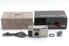 Contax TVS 35mm Point & Shoot Film Camera 【Mint Boxed】 from Japan 642